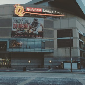 "Outside shot of ""The Q"""